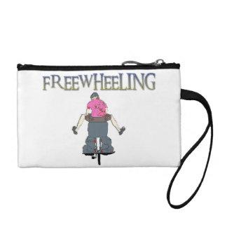 Freewheeling Cycling Coin Purse