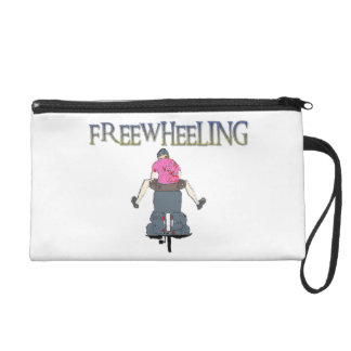 Freewheeling Cycling Wristlet Purse
