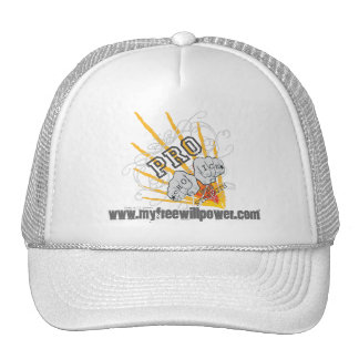 freewillpower: dana's cap trucker hat