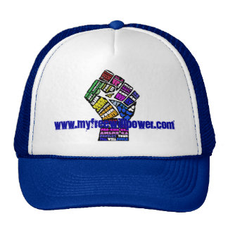 freewillpower: winning cap! trucker hat
