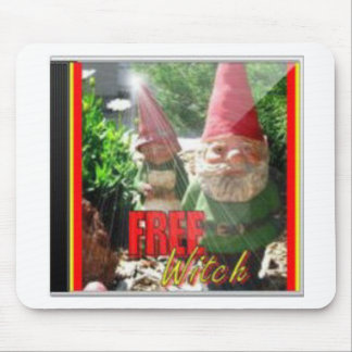 FreeWitch Gnomes CD Cover Mousepad
