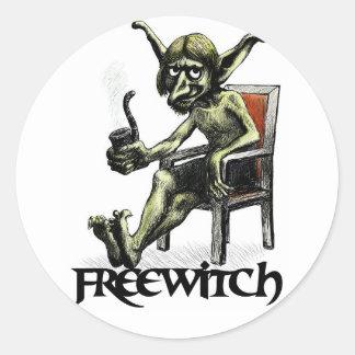 FreeWitch Kobold Stickers