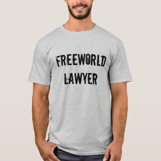 FREEWORLD LAWYER T-Shirt