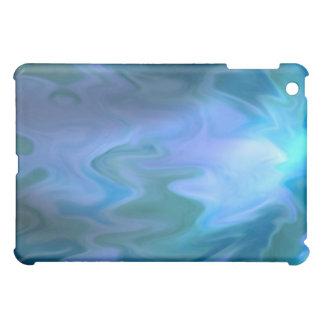 Freeze Melt Blue Water iPad Mini Covers