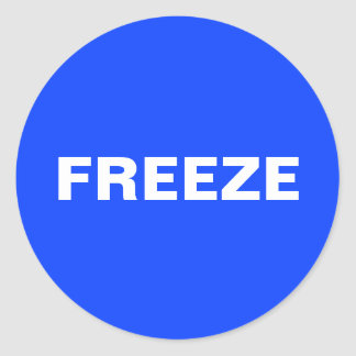Freeze Sticker