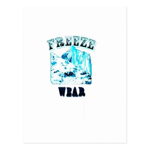 Freeze Wear Merchandise Postcard