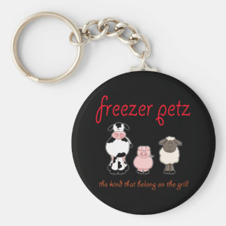 Freezer Petz the Kind That Belong on the Grill Keychain