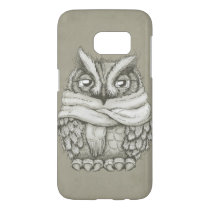 Freezin Owl Samsung Galaxy S7 Case