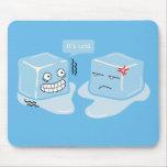 Freezing Ice Cube - Mousepad