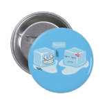 Freezing Ice Cubes - Button