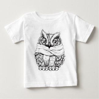 Freezing Owl Baby T-Shirt