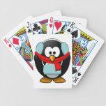 Freezing Penguin Playing Cards