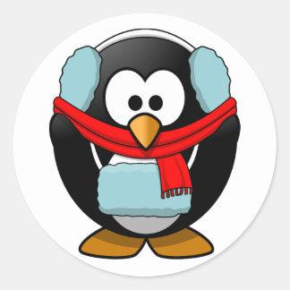 Freezing Penguin Stickers