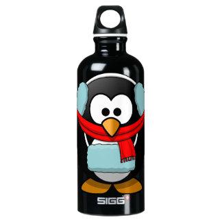 Freezing Penguin Water Bottle
