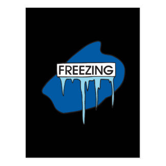 Freezing Postcard