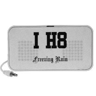 freezing rain mp3 speaker
