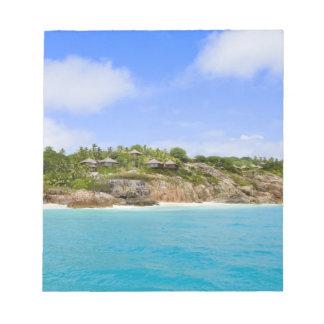 Fregate Island resort (PR) Notepad