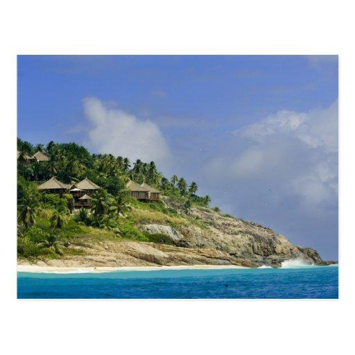 Fregate Island resort PR) Post Cards
