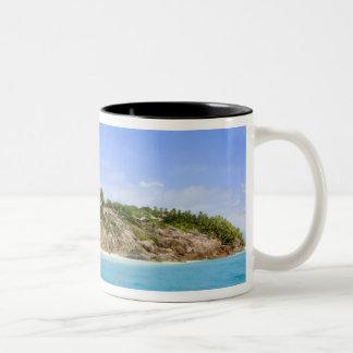 Fregate Island resort (PR) Two-Tone Coffee Mug