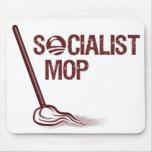 Fregona socialista tapetes de ratón