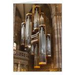 Freiburg Cathedral organ Card