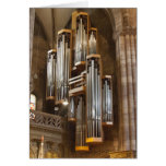 Freiburg Cathedral organ Greeting Card