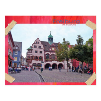 Freiburg en el máximo accidente previsible de puré tarjetas postales
