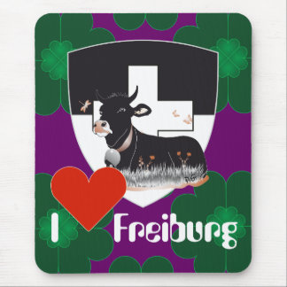 Freiburg/Fribourg Switzerland Suisse mouse PAD