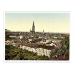 Freiburg, general view, Baden, Germany classic Pho Postcards