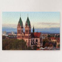 Freiburg Im Breisgau Germany. Jigsaw Puzzle
