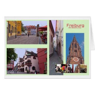 Freiburg im Breisgau Tarjeta De Felicitación
