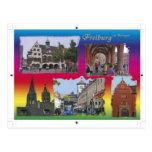 Freiburg in mash gau post card