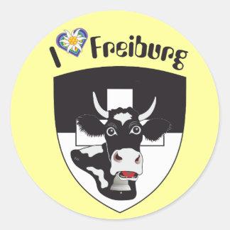 Freiburg Suiza Suisse Svizzera pegatina
