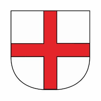 Freiburger coat of arms statuette