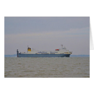 Freight Ferry Victorine Card