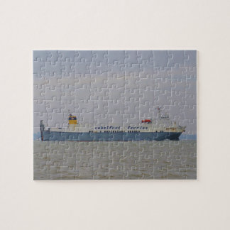 Freight Ferry Victorine Jigsaw Puzzle