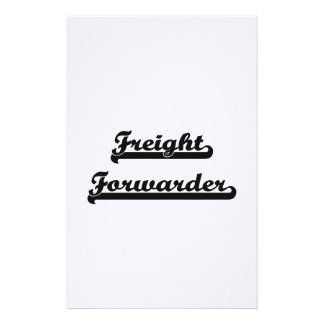 Freight Forwarder Classic Job Design Stationery