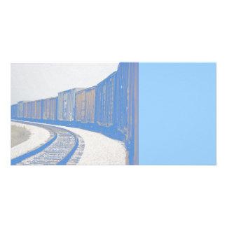Freight Train Card