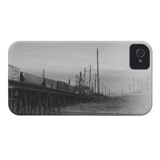 Freight Train Going Down The Tracks iPhone 4 Cover