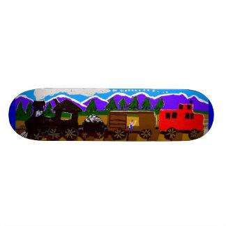 Freight Train Skateboard Deck