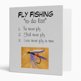 """""""Freight Train-To Do List"""" Fly Fishing Journal Binder"""