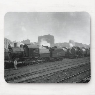 Freight Trains Scranton Pa. Mouse Pad