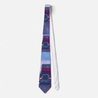 FREIGHT TRUCK BIG RIG TRUCKERS Fashion Tie
