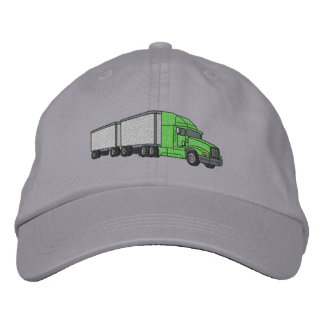 Freight Truck Embroidered Baseball Cap