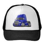 Freightliner Cascadia Blue Truck Trucker Hat
