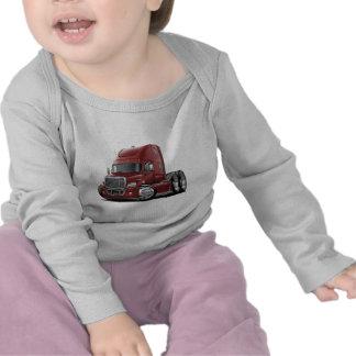 Freightliner Cascadia Maroon Truck Tshirt