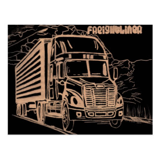 Freightliner Cascadia Postcard
