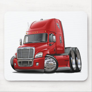 Freightliner Cascadia Red Truck Mousepad