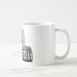 Freightliner Cascadia White Truck Coffee Mug