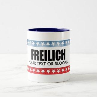 FREILICH 2010 Two-Tone COFFEE MUG
